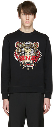 Kenzo Black Chinese New Year Tiger Pullover $270 thestylecure.com
