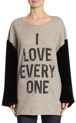 Cinq à Sept I Love Everyone Sweater