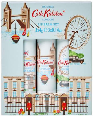 Cath Kidston London 3 X 4G Lip Balm Set