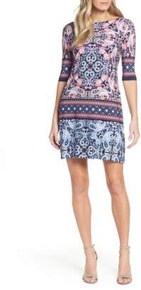 Eliza J Paisley Shift Dress