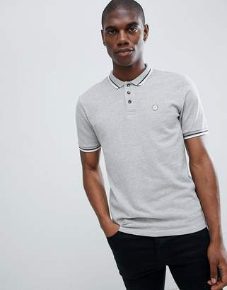 Le Breve Tipping Slim Fit Polo Shirt