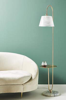 Anthropologie Mercy Marble Floor Lamp