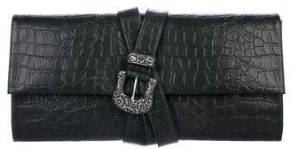 Maison Margiela Embossed Belted Clutch w/ Tags