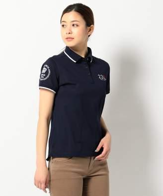 23区 (ニジュウサンク) - 23区GOLF 【WOMEN】【Made In Japan】定番ポロシャツ(C)FDB