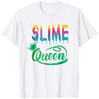 Slime Queen Slimy Rainbow Slime Party Fun Tshirt