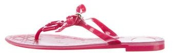 Christian Dior Rubber Thong Sandals