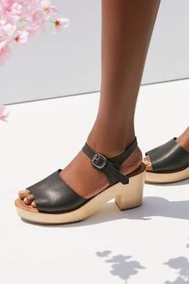 Urban Outfitters Krista Wooden Heel Sandal