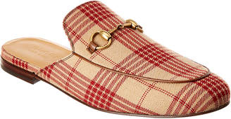 Gucci Princetown Jacquard Slipper