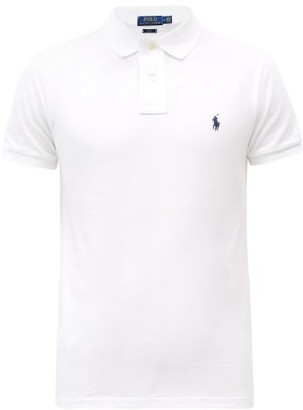 a64479c08 Polo Ralph Lauren Slim Fit Cotton Polo Shirt - Mens - White