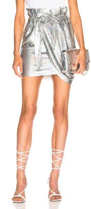 IRO Mahont Skirt in Silver | FWRD