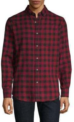 Classic Checked Button-Down Shirt