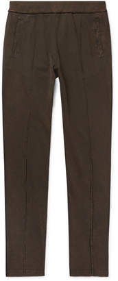 Bottega Veneta Acid-Washed Cotton-Jersey Sweatpants