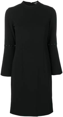 DKNY bell sleeve dress
