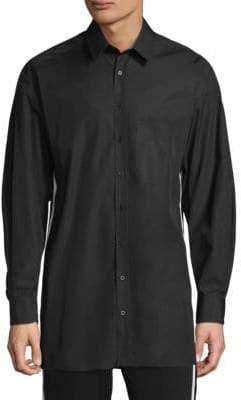 Neil Barrett Classic Cotton Button-Down Shirt