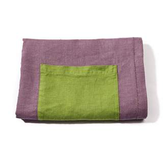 yamabahari - Topaza Pella Linen Beach Towel - Purple Edition