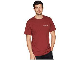 Filson Short Sleeve Outfitter Graphic T-Shirt (Burnt Red