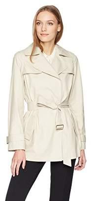 Calvin Klein Women's Trench Jacket with Belt
