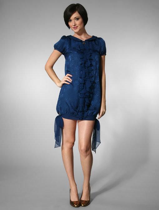 Jovovich-Hawk Monita Dress in Blue