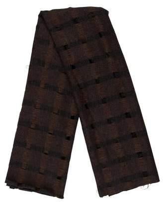 Krizia Lightweight Knit Scarf