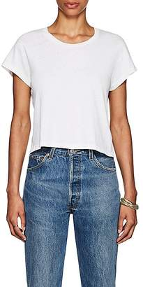 RE/DONE Women's 1950s Boxy Crop Tee