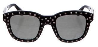 Saint Laurent SL100 Lou Studded Sunglasses