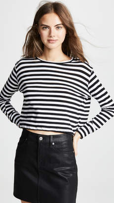 LnA Drop Shoulder Stripe Tee