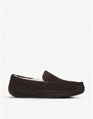 UGG Ascot suede and fleece slippers