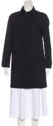 Prada Sport Lightweight Knee-Length Coat