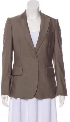Stella McCartney Wool Peaked-Lapel Blazer