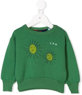 The Animals Observatory sun printed sweatshirt