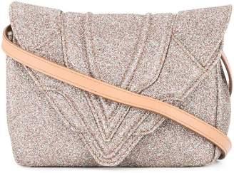 Elena Ghisellini glitter small crossbody bag