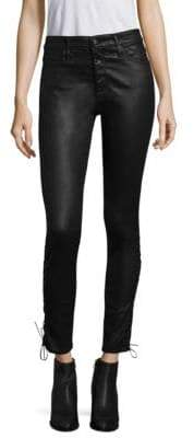 AG Jeans Leatherette Skinny Jeans