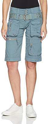 Pete & Greta by Johnny Was Women's Poplin Cargo Shorts