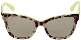 Dolce & Gabbana Leopard Butterfly Sunglasses Size 6/10y