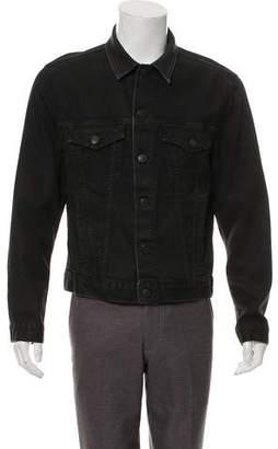 J Brand Waxed Denim Jacket
