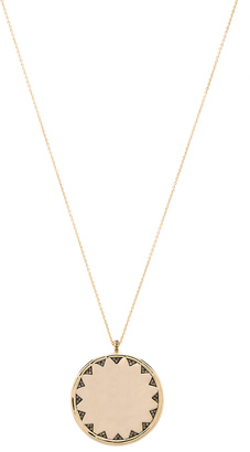 House of Harlow Incan Sun Coin Pendant Necklace $58 thestylecure.com