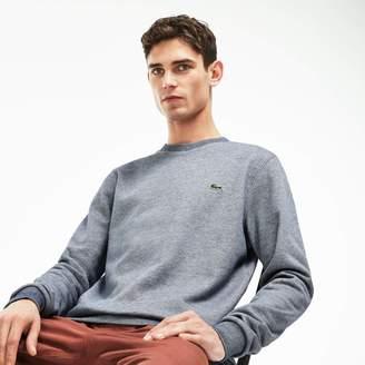 Lacoste Men's Crew Neck Brushed Sweatshirt