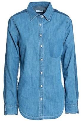 Rag & Bone Cotton And Silk-blend Chambray Shirt