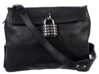 Burberry Studded Padlock Crossbody Bag