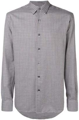 Ermenegildo Zegna micro-checked shirt