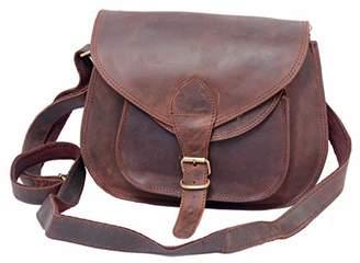 Touch of Leather Women Purse Shoulder Bag Shoulder Handbag Sling Bag Tote Vintage Style Leather Satchel Women Crossbody Bag Evening Office College Bag Travel Camera Bag