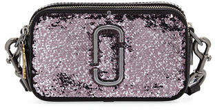 Marc Jacobs Sequin Snapshot Crossbody Bag