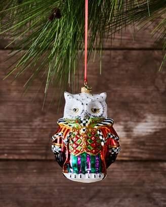 Mackenzie Childs MacKenzie-Childs Wise Owl Christmas Ornament
