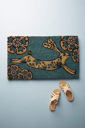 Anthropologie Bunny Doormat