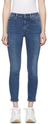 Acne Studios Blue Bla Konst Peg Jeans