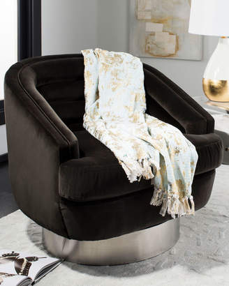 Safavieh Gemma Metallic Throw Blanket