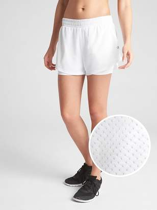 "Gap GapFit 5"" Perforated Double-Layer Shorts"