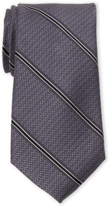 MICHAEL Michael Kors Pebble Stone Stripe Silk Tie