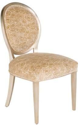 Velvet Rose Upholstered Side Chair