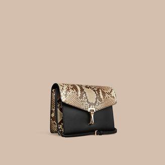 Burberry Small Python Crossbody Bag $2,195 thestylecure.com